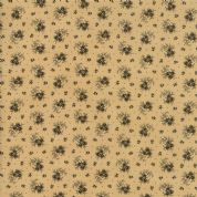 Moda - Spice It Up - 6606 -  Reproduction Floral on Light Tan - 38052 21 - Cotton Fabric